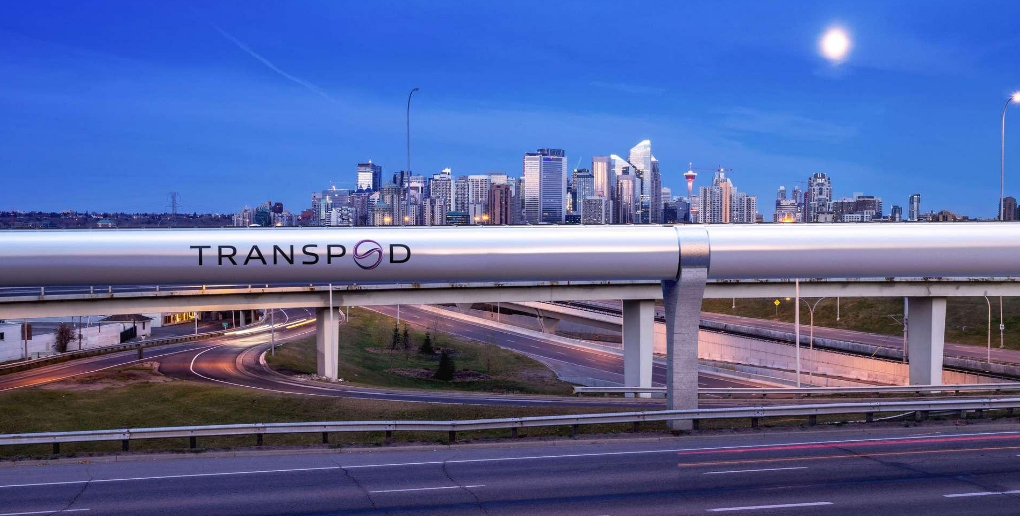 image d'un tube pour Hyperloop
