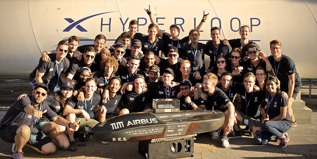 Le record de vitesse de l'Hyperloop établi par WARR Hyperloop