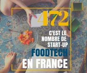 Il exsite 472 start-up foodtech en france