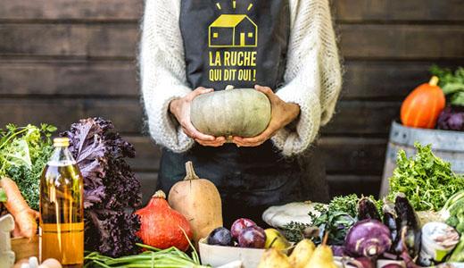 La ruche qui dit oui est une start-up food française réputée