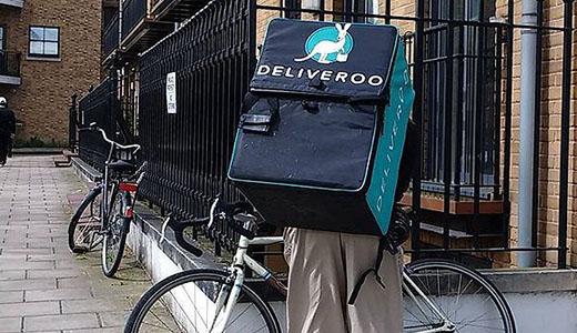 Deliveroo est une des start-up food les plus connue au monde