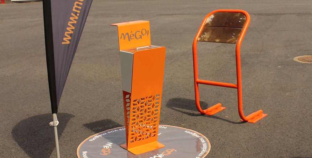 Le recyclage des mégots de cigarettes par l'entreprise MéGo!