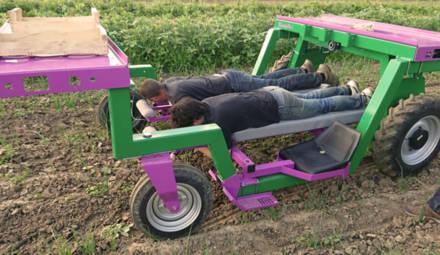 Le robot Ponchon participe à la nouvelle révolution agricole