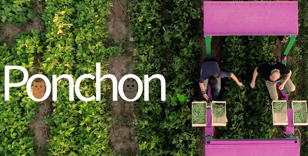 Les robots Ponchon sont des enjambeurs de cultures.