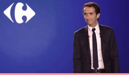 Alexandre Bompard, le PDG du groupe Carrefour, s'engage pour la transition alimentaire