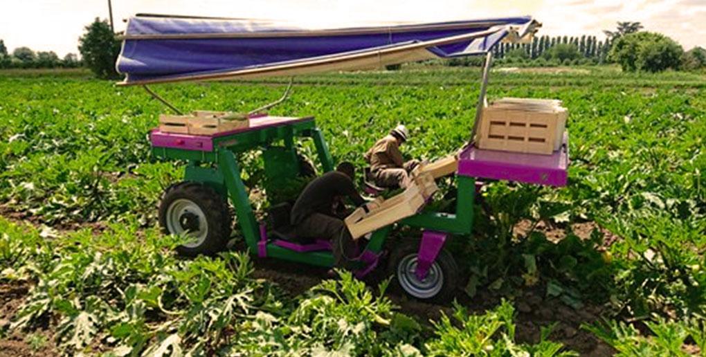 Le ponchon est un robot agricole