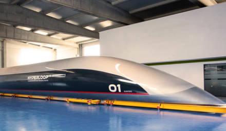 Construite en Vibranium, Quintero One est la capsule passager de Hyperloop TT