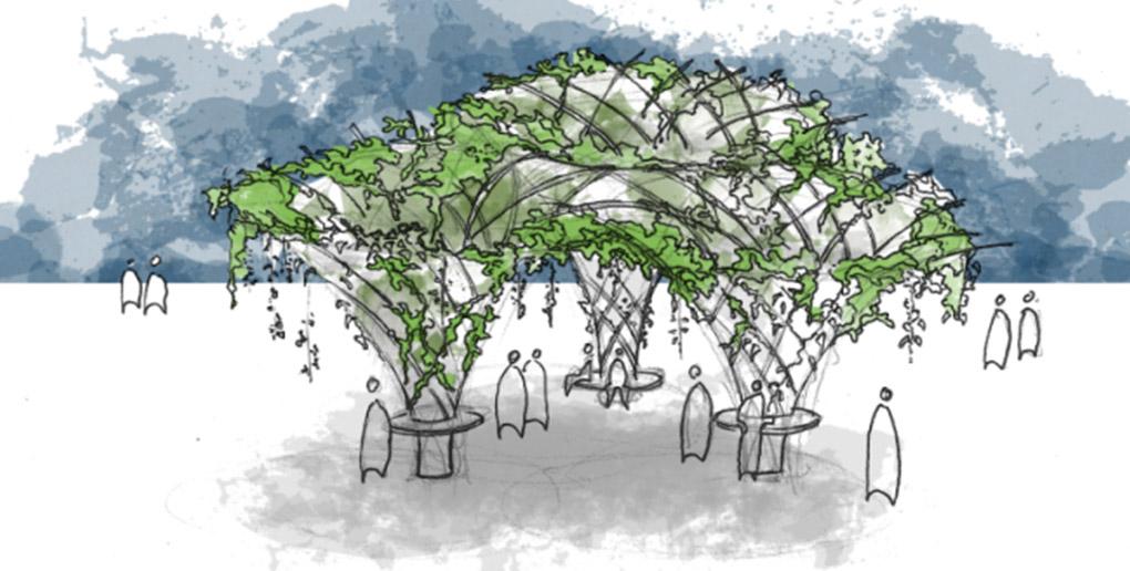 la start-up urban canopee souhaite réduire les ilots de chaleur urbains