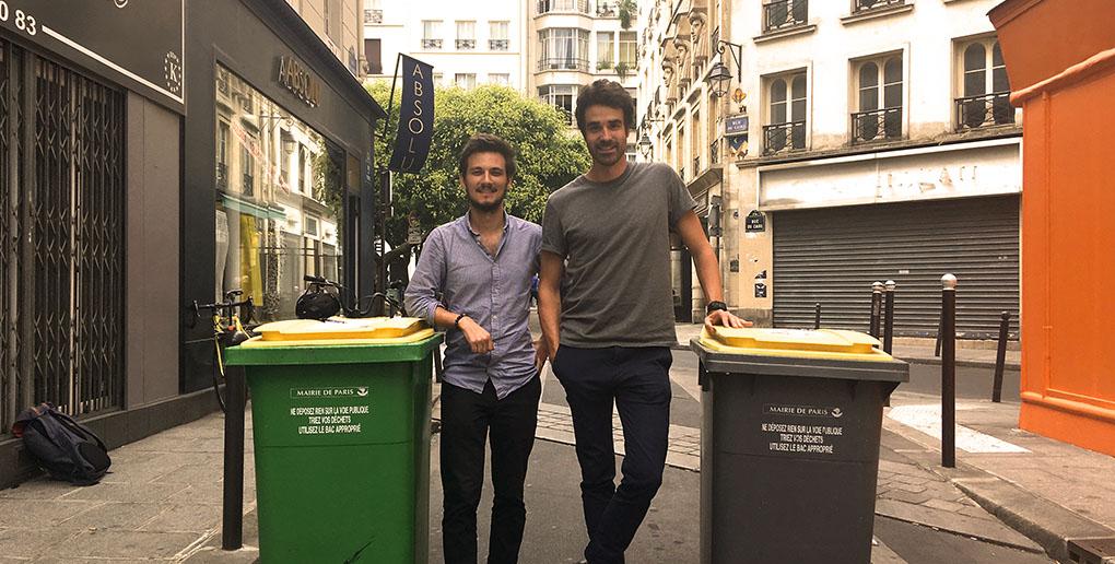 les fondateurs de la start-up Urbyn