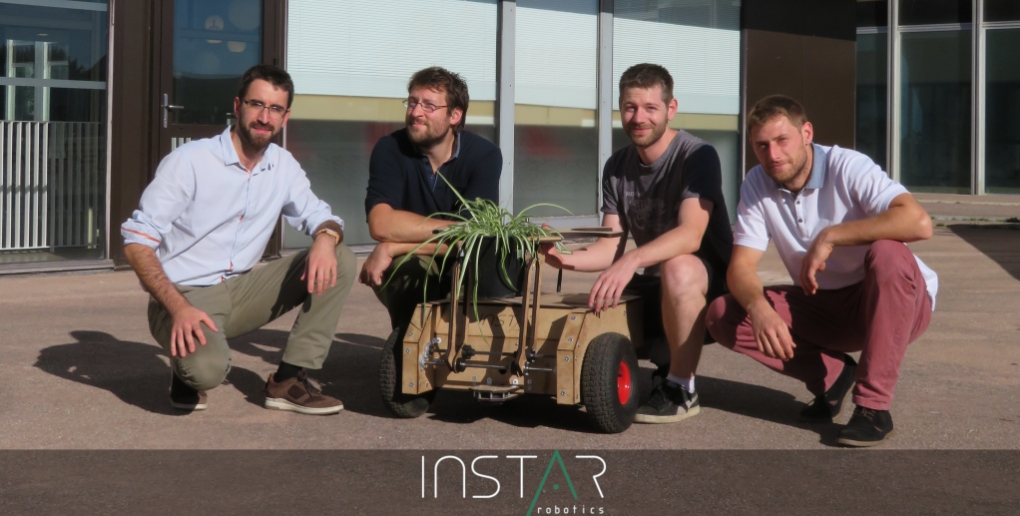 équipe de la start-up Instar Robotics