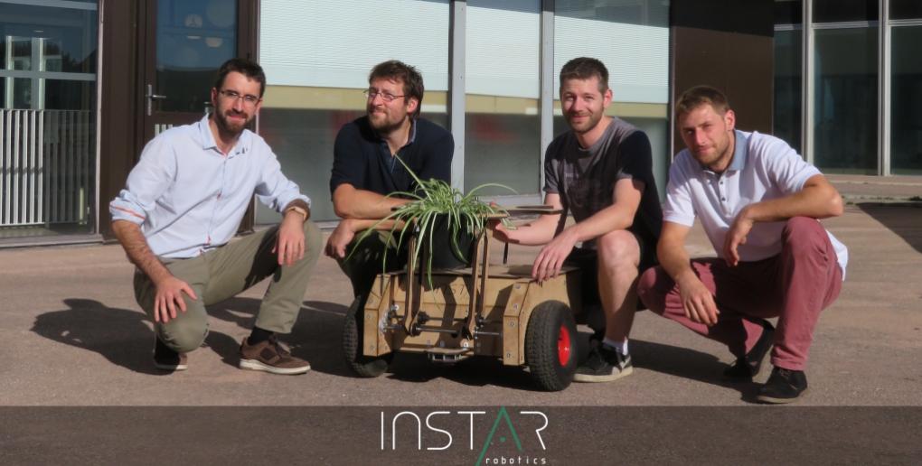 équipe de la start-up Instar Robotics