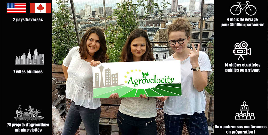l'équipe de l'association AgroVeloCity