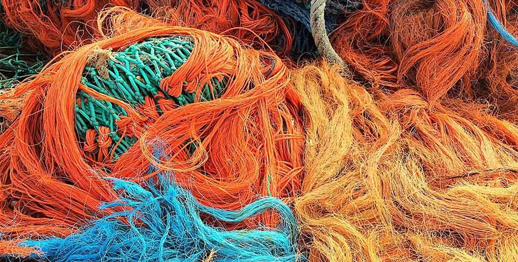 il est possible de recycler des filets de pêche