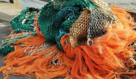 des filets de pêche