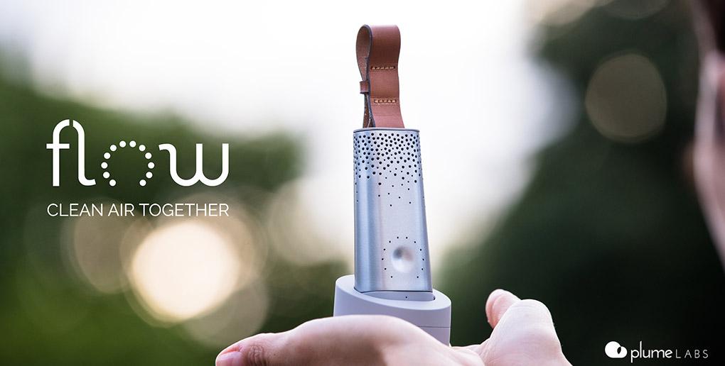 L'object connecté Flow, de la start-up Plume Labs