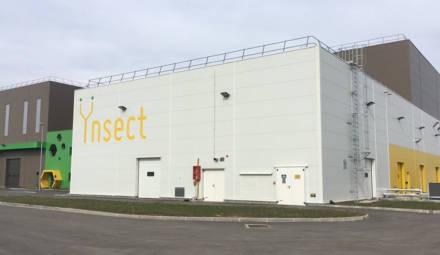 l'usine à insectes de la start-up Ÿnsect