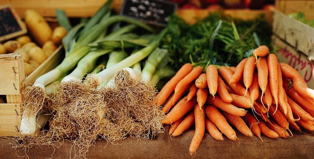 des poireaux et des carottes
