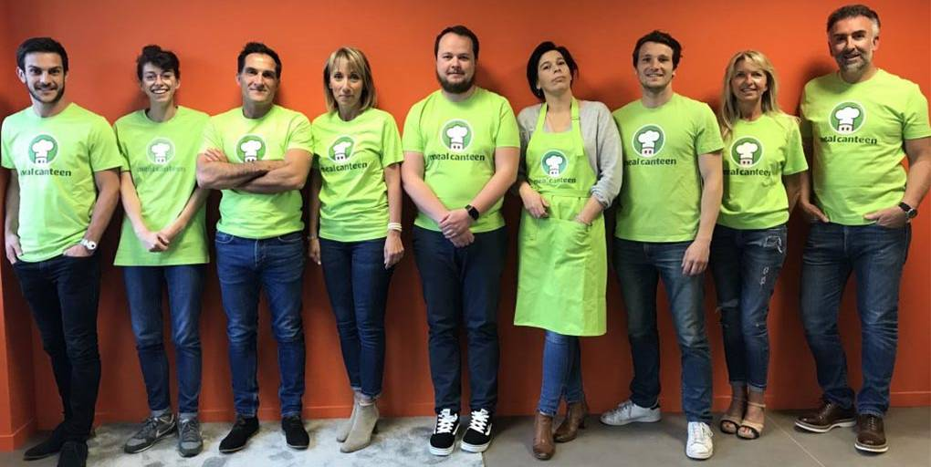 l'équipe de la start-up MealCanteen
