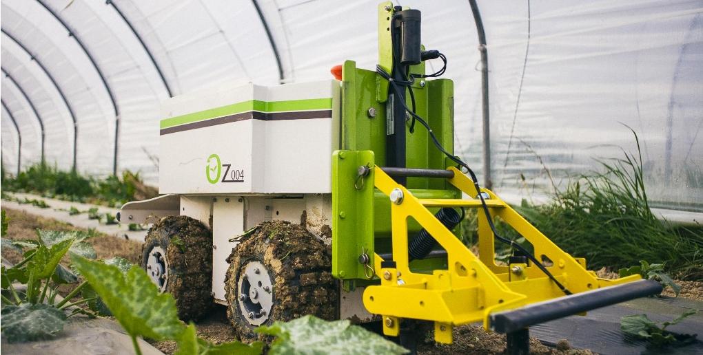 les robots aident également à l'agriculture de précision