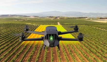 les drones permettent l'agriculture de précision