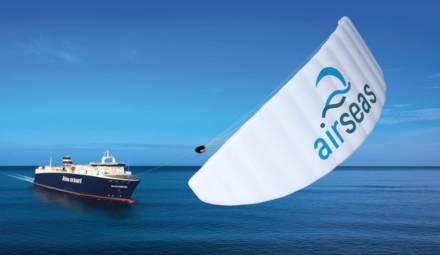 la voile airseas aide à réduire l'empreinte carbone du transport maritime