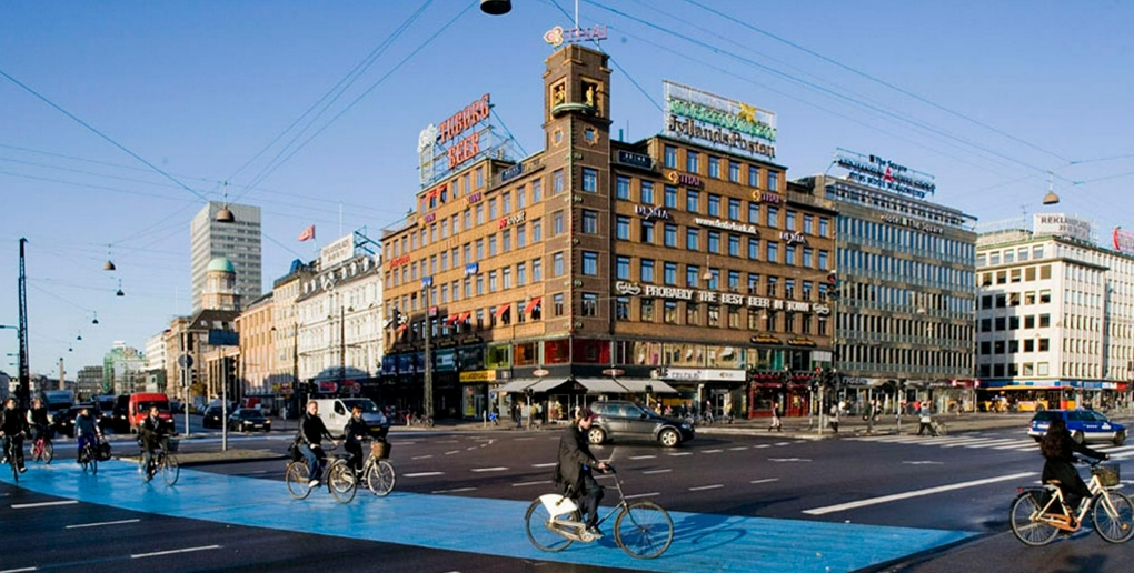 Copenhague est un exemple de ville intelligente.