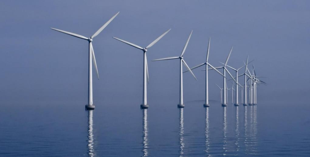 les éoliennes de Middelgrunden