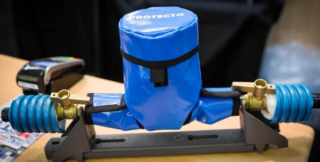 la housse protecto permet de détecter les fuites d'eau