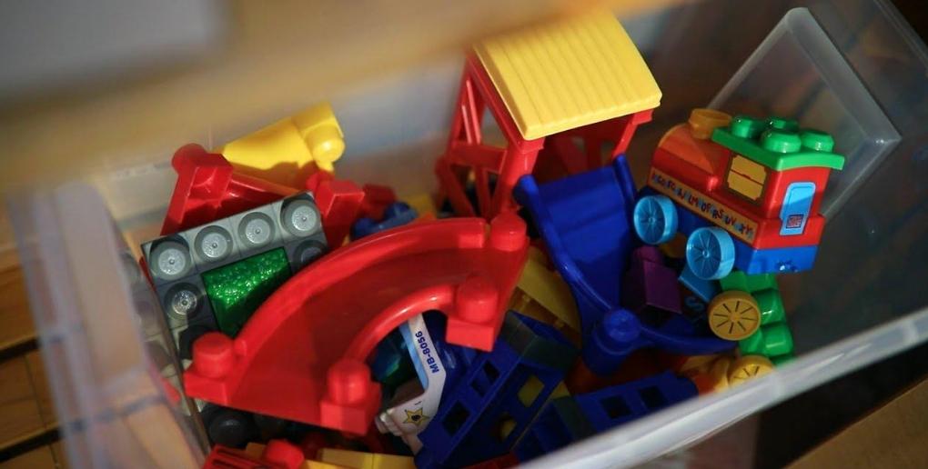 les jouets sont souvent donnés sur Geev.