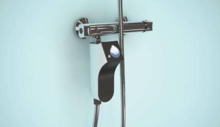 eddo.drop est une commande de douche connectée