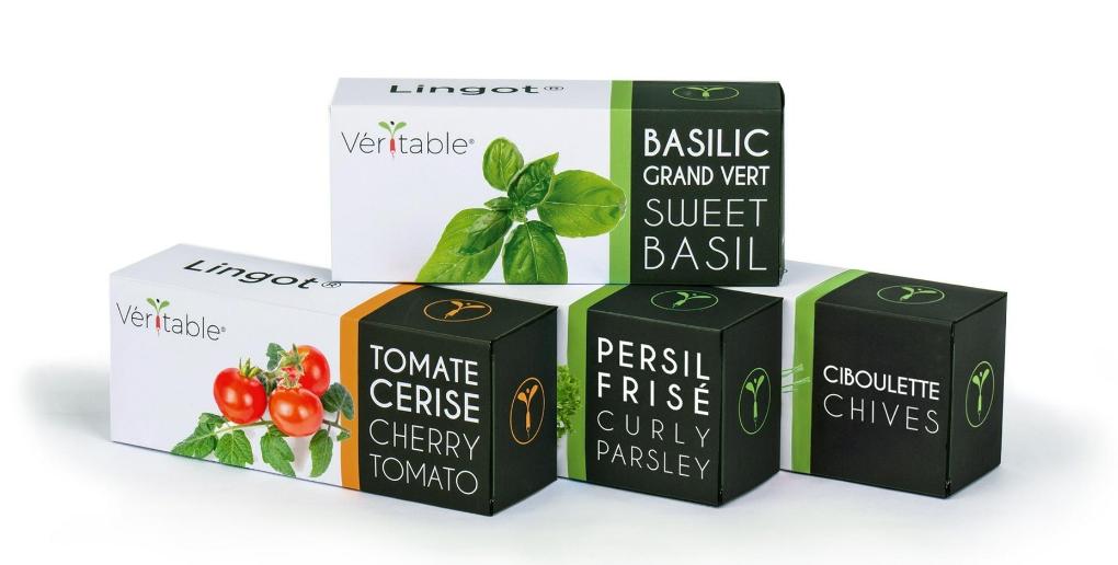 produits permettant d'alimenter le potager d'intérieur exky