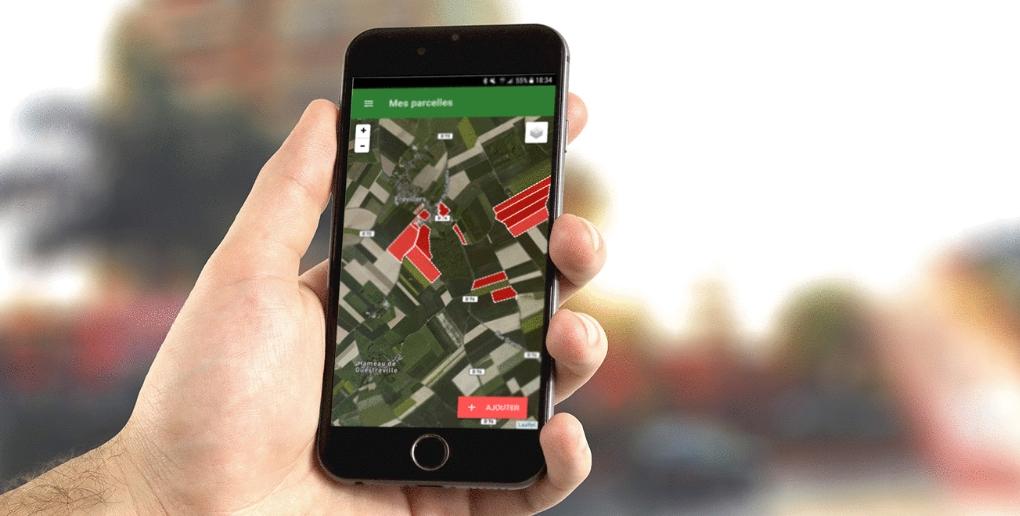 l'application mobile relié à l'objet connecté de Samsys