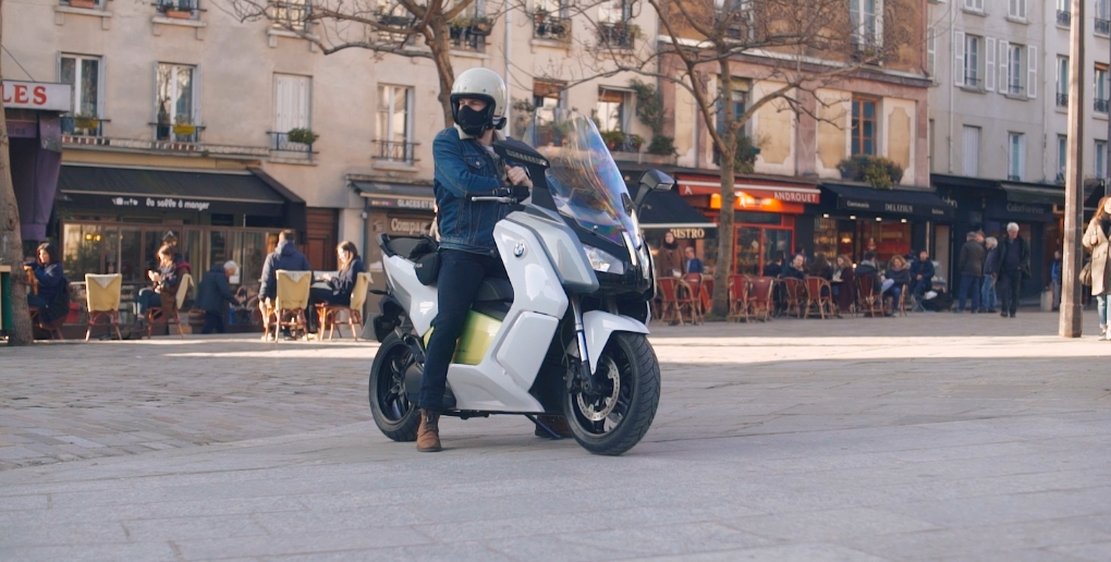 masque anti pollution scooter