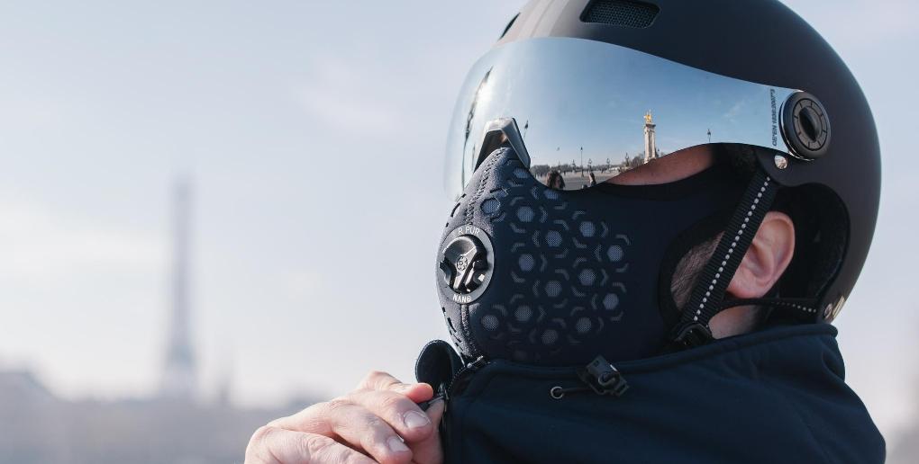masque antipollution de la société R-PUR
