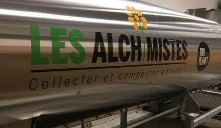 Les Alchimistes proposent une solution de compostage unique
