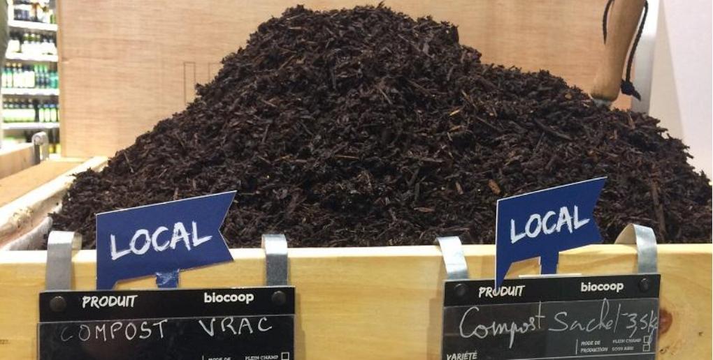 le compost produit par la start-up Les Alchimistes