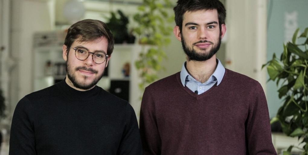 les fondateurs de la startup Agriloops
