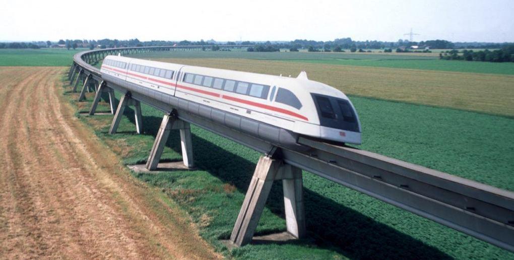 le transrapid est l'ancêtre de l'hyperloop