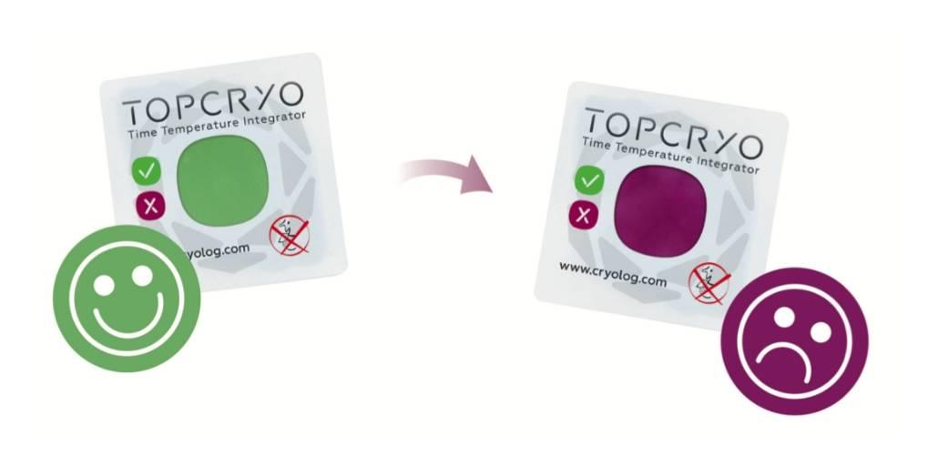 Topcryo, les pastilles de la société Cryolog