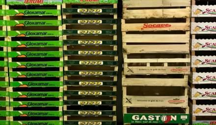 les emballages de transport de marchandises sont peu recyclé