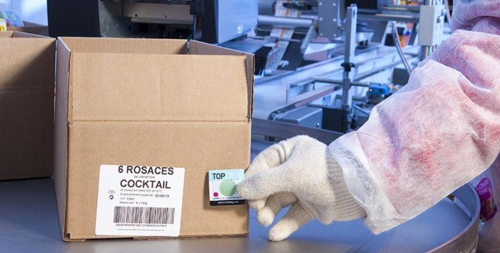 la pastille intelligente de cryolog permet de savoir si la chaîne du froid est respectée