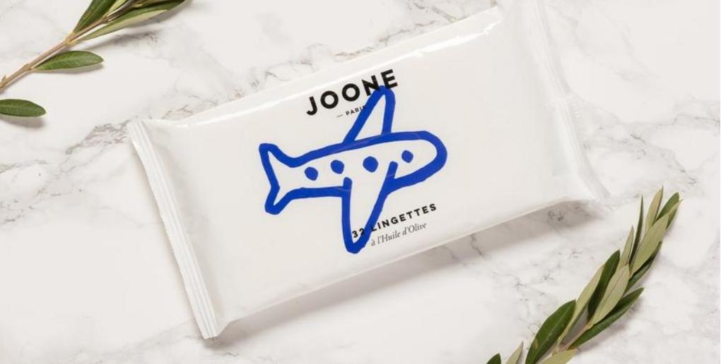 Les lingettes nettoyantes de la marque Joone