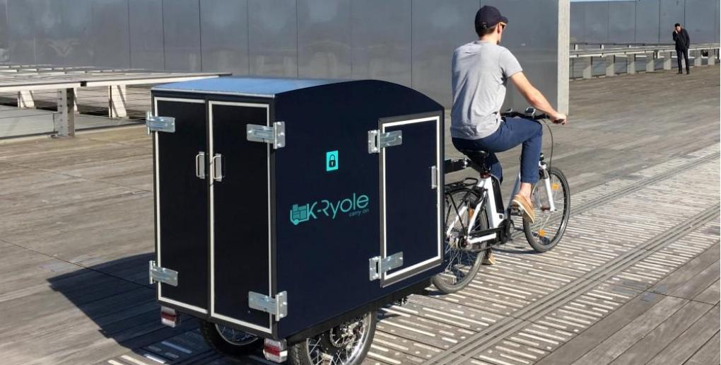 la k-ryole est un vélo à assistance électrique