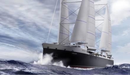 neoline transport maritime voile