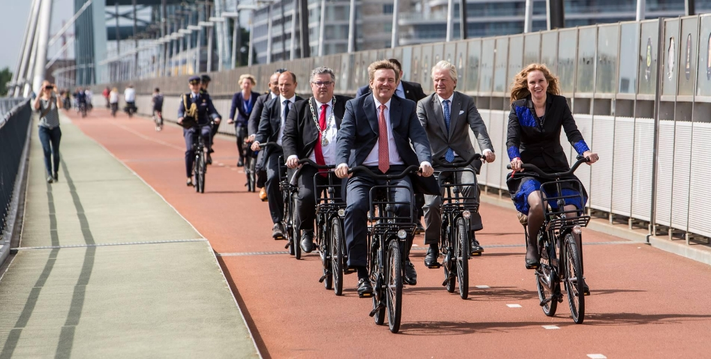 autoroute cyclable nimègue