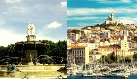 aix en provence - Marseille