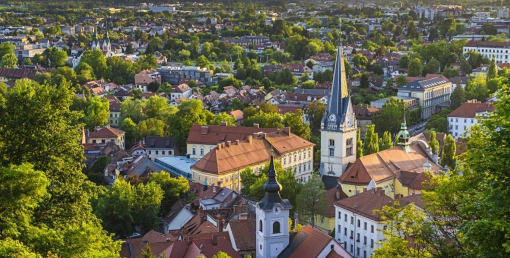 Ljubljana ville verte
