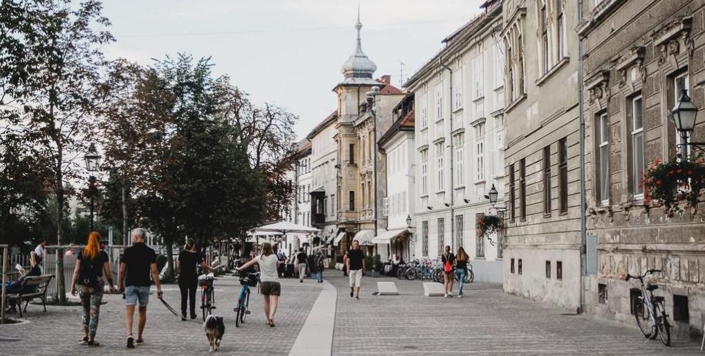 Ljubljana ville sans voitures