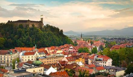 Ljubljana panorama