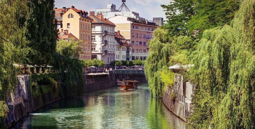 Ljubljana et la rivière Save